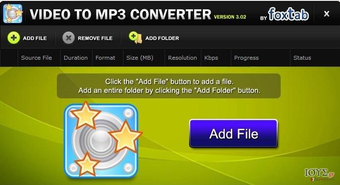 Στιγμιότυπο του FoxTab Video Converter