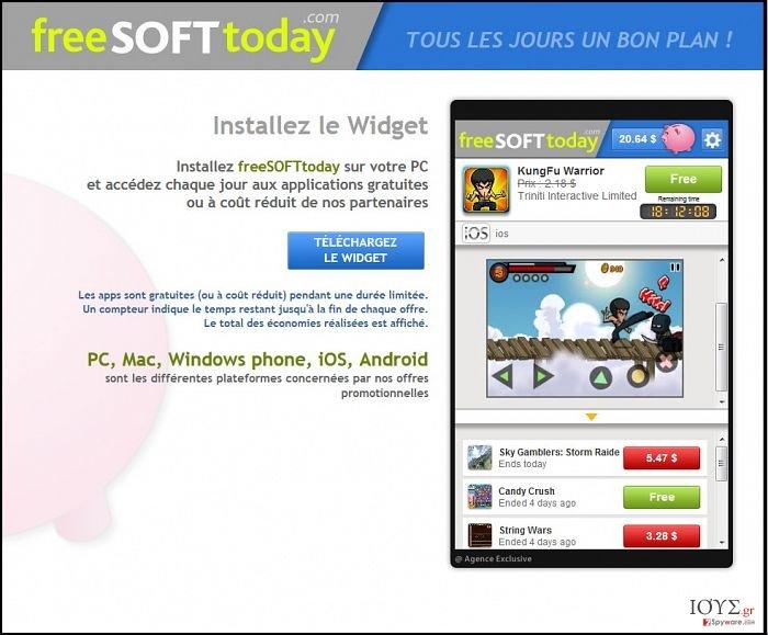 Στιγμιότυπο του FreeSoftToday