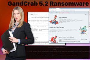 Ιός GandCrab 5.2 ransomware