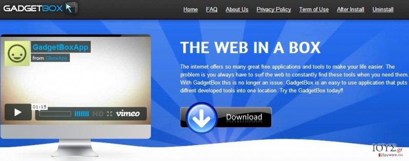 Στιγμιότυπο του Gboxapp
