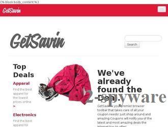 Στιγμιότυπο του GetSavin