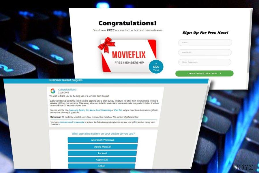 Η διαδικτυακή απάτη Google Customer Reward Program scam