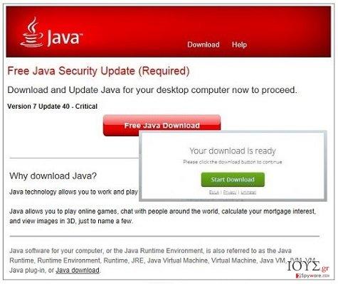 Στιγμιότυπο του Gyl.javatri.net αναδυόμενες διαφημίσεις