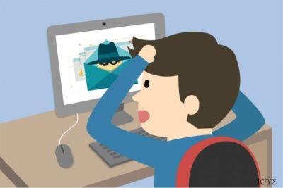 Απεικόνιση του ιού Idle Buddy