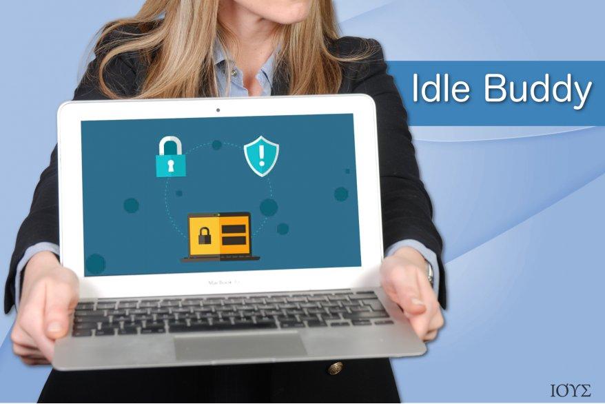 Παράδειγμα του ιού Idle Buddy