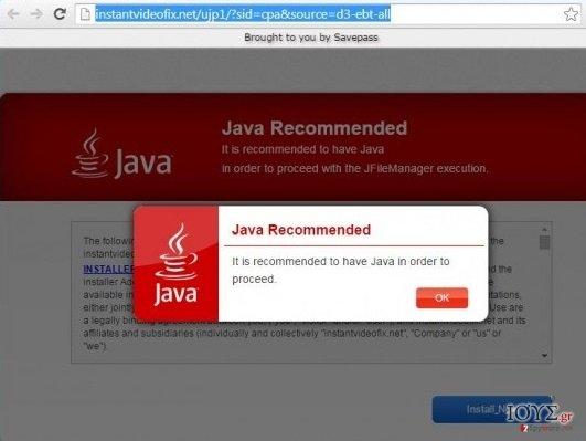 Στιγμιότυπο του InstantVideoFix.net