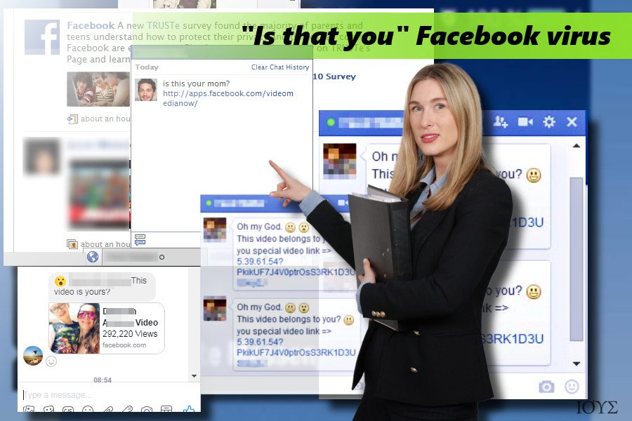 "Ο ιός ""Is that you"" Facebook virus"