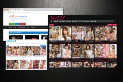 Απεικόνιση του ιού Jav123