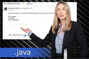 Ιός ransomware με .java επέκταση αρχείου