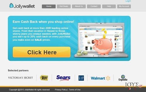 Στιγμιότυπο του Jollywallet