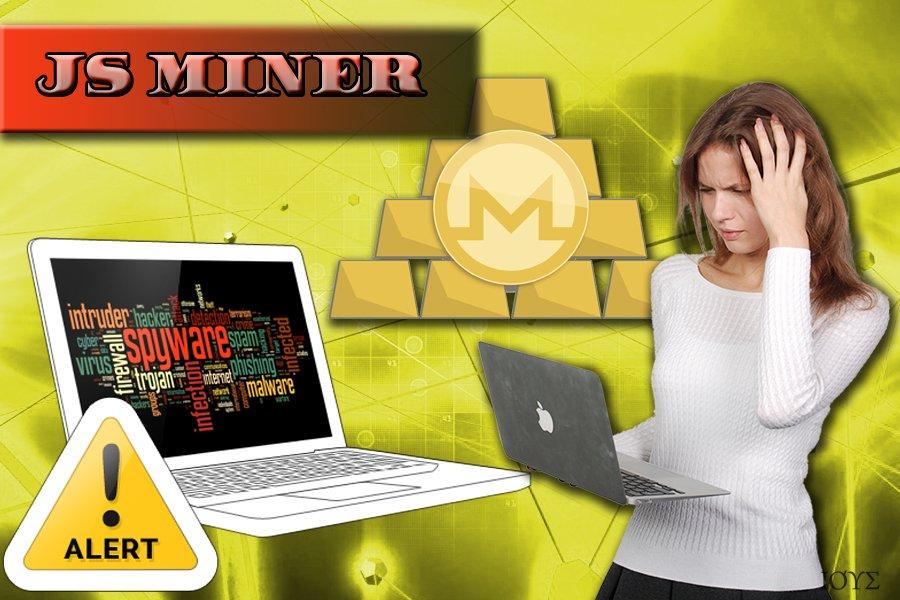 Το λογισμικό εξόρυξης κρυπτονομισμάτων (crypto-miner) Js Miner
