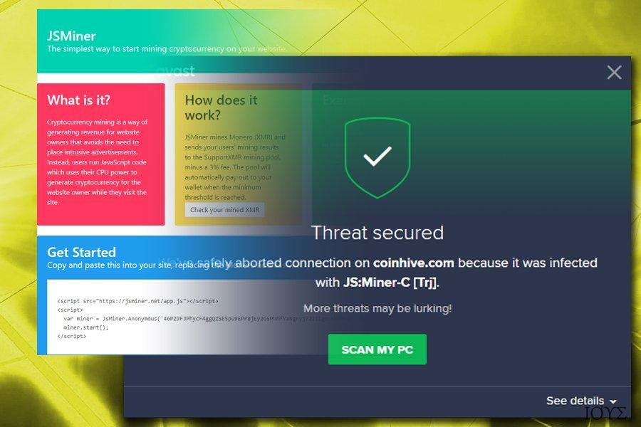 Το Js Miner-C malware