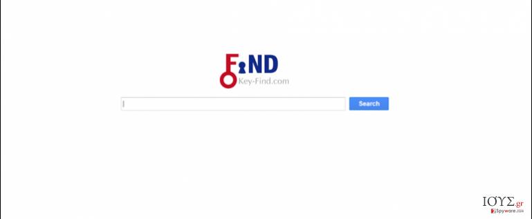 Στιγμιότυπο του Key-Find.com virus
