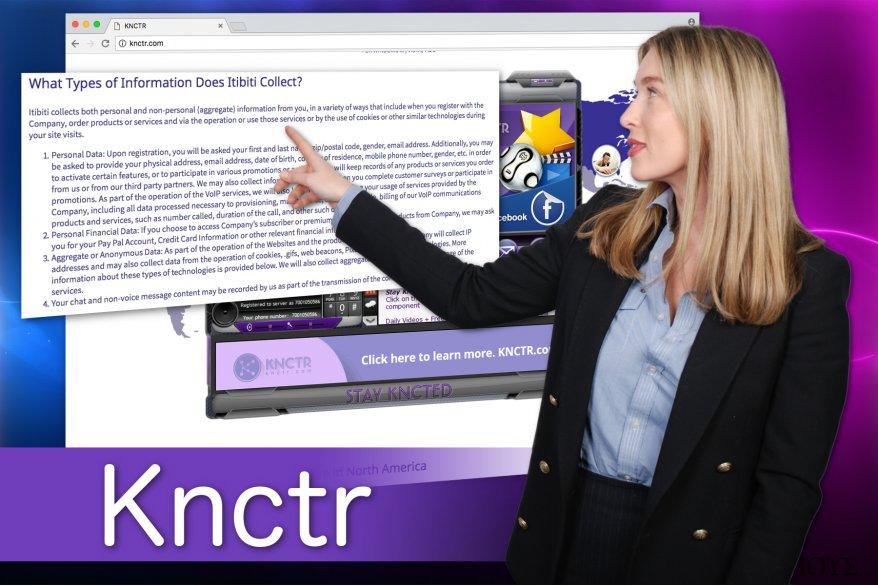 Στιγμιότυπο του Ιός Knctr