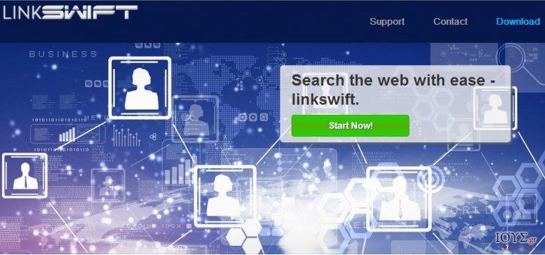 Στιγμιότυπο του LinkSwift