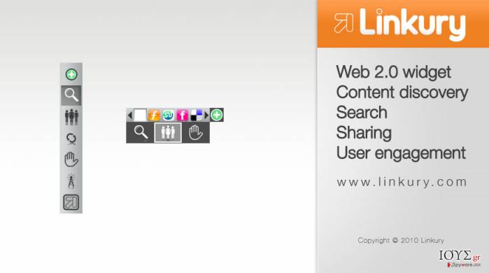 Στιγμιότυπο του Linkury SmartBar