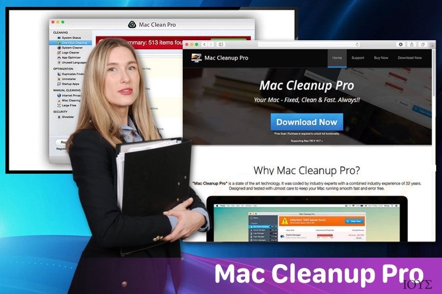 Το Mac Cleanup Pro PUP