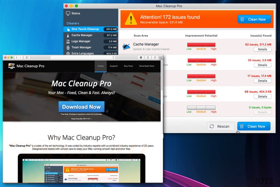 Το Mac Cleanup Pro