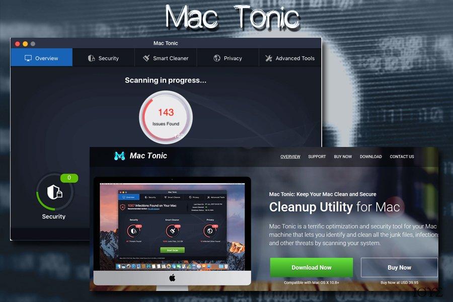 Mac Tonic για Ιό Mac