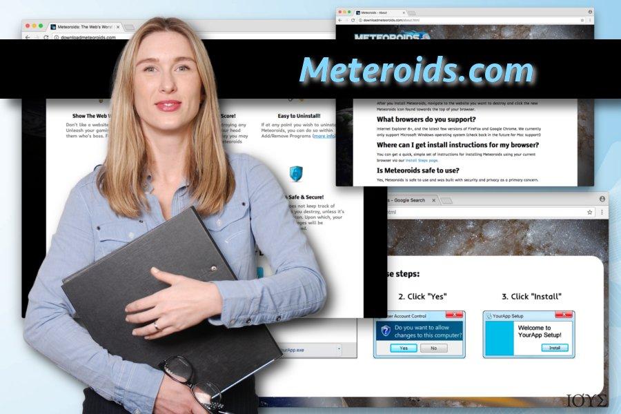 Meteoroids ιός