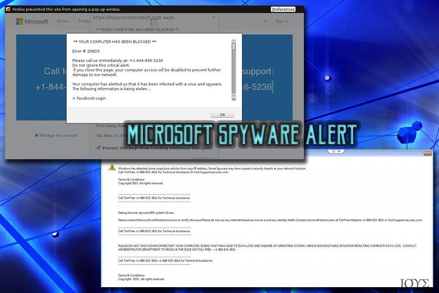 Ειδοποίηση Microsoft spyware