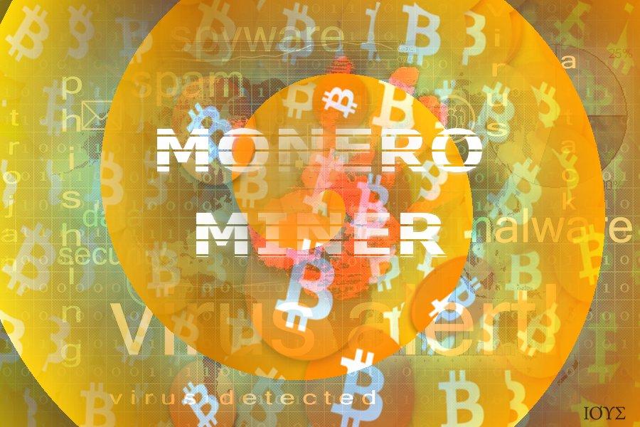 Απεικόνιση της έννοιας του Monero Miner