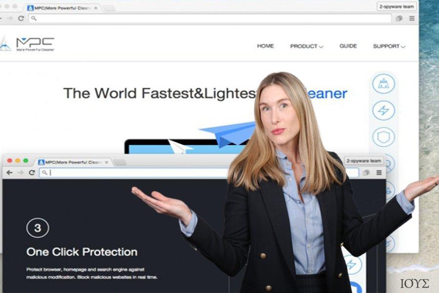 Οι χρήστες μπορούν να κατεβάσουν τον ιό MPC Cleaner από την επίσημη σελίδα του
