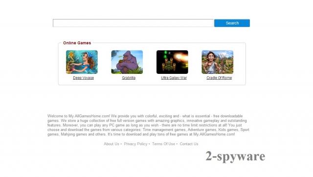 Στιγμιότυπο του my.allgameshome.com