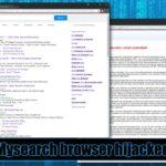 Στιγμιότυπο του Mysearch virus