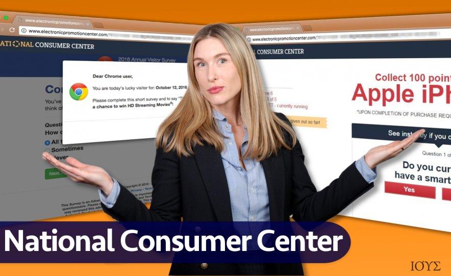 National Consumer Center διαφημίσεις