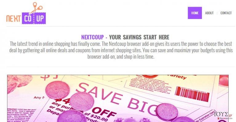 Στιγμιότυπο του NextCoup διαφημίσεις