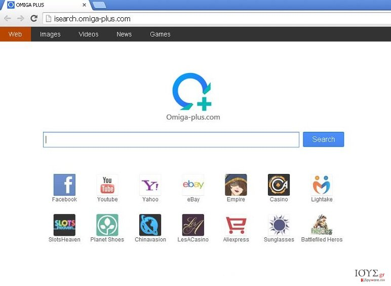 Στιγμιότυπο του Omiga-plus.com