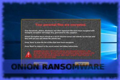 Ο ιός Onion ransomware
