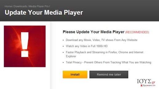 Στιγμιότυπο του Αναδυόμενες διαφημίσεις Opensoftwaredownload.com