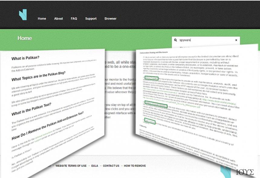 Στιγμιότυπο του Ανακατευθύνσεις από Palikan.com