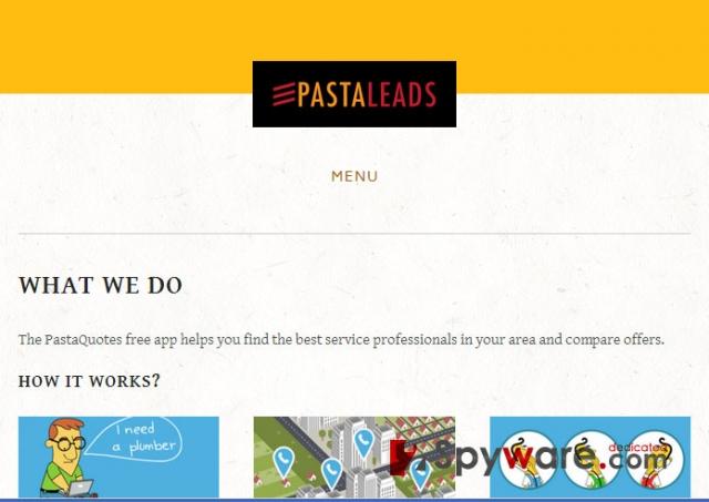 Στιγμιότυπο του PastaQuotes