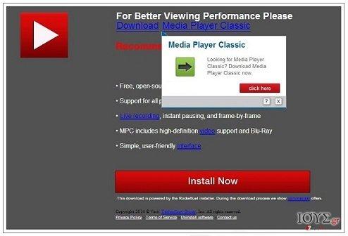 Στιγμιότυπο του PCSoftUpdate.com ιός
