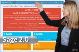 Ιός Sage 2.0 ransomware