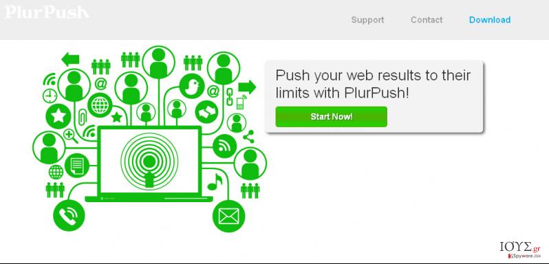 Στιγμιότυπο του PlurPush