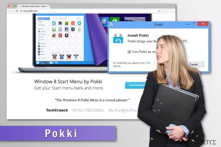 Απεικόνιση του ιού Pokki