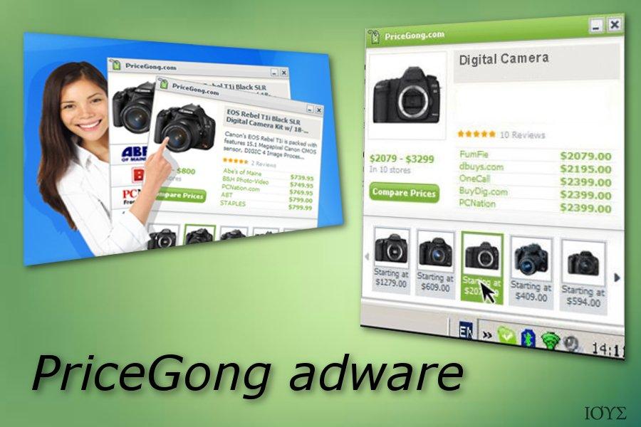 Στιγμιότυπο του PriceGong
