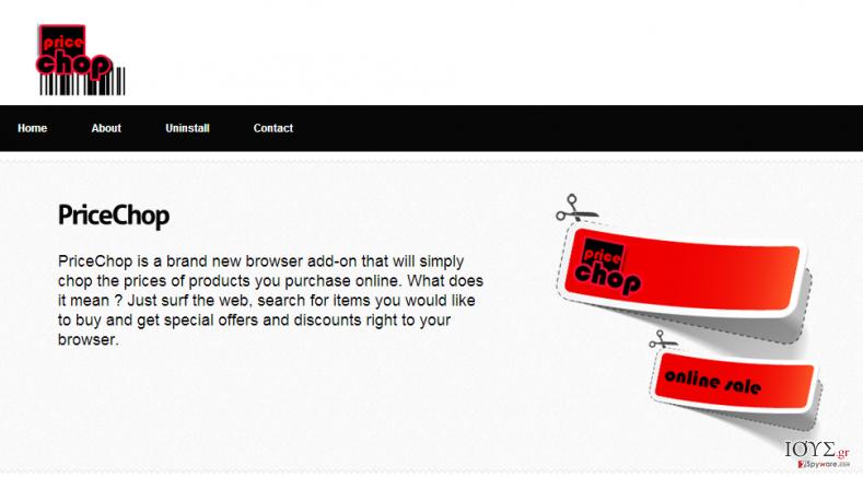 Στιγμιότυπο του PriceChop
