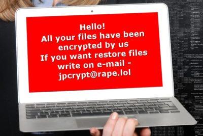 Ο ιός κρυπτογραφήσεων (crypto-virus) Rapid ransomware