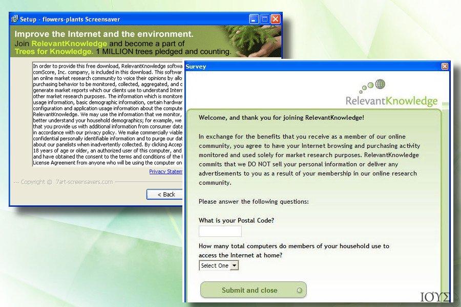 Στιγμιότυπο του Relevant Knowledge