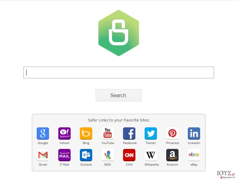 Στιγμιότυπο του Ιός Safer Browser