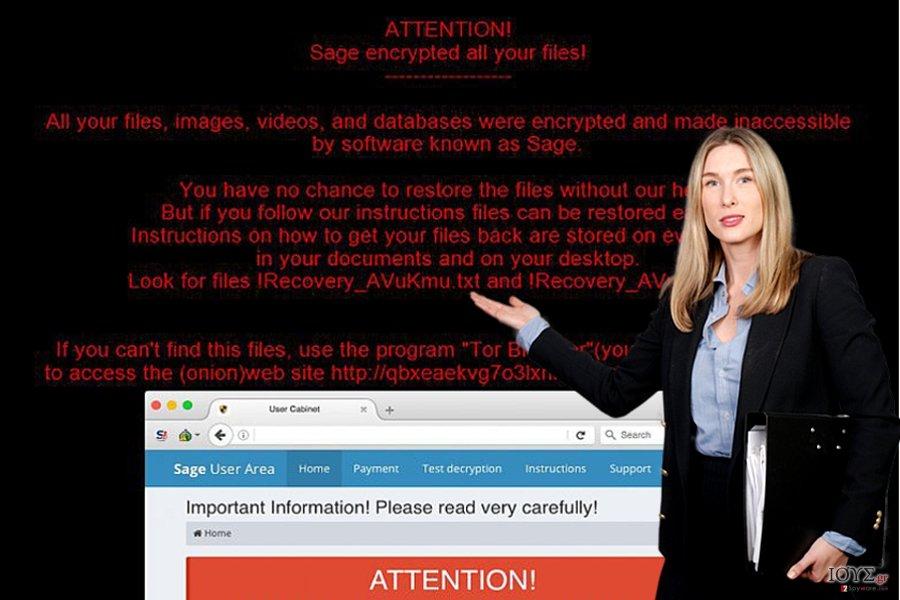 Ιός Sage ransomware