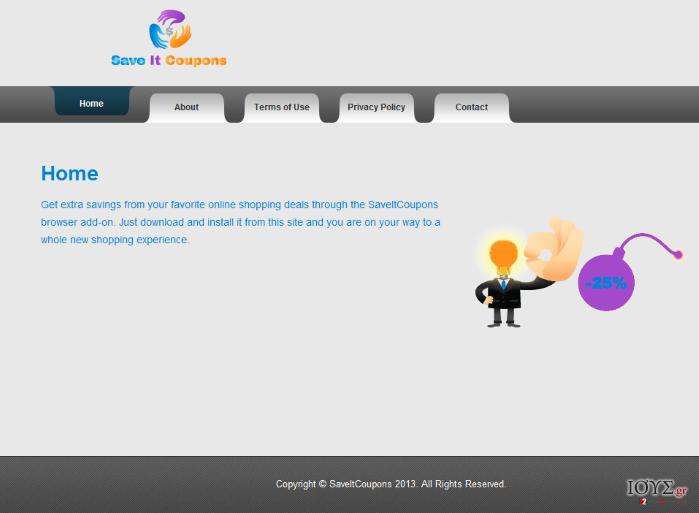 Στιγμιότυπο του SaveItCoupons ΙΟΣ