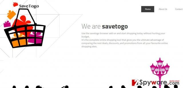 Στιγμιότυπο του SaveTogo Διαφημίσεις