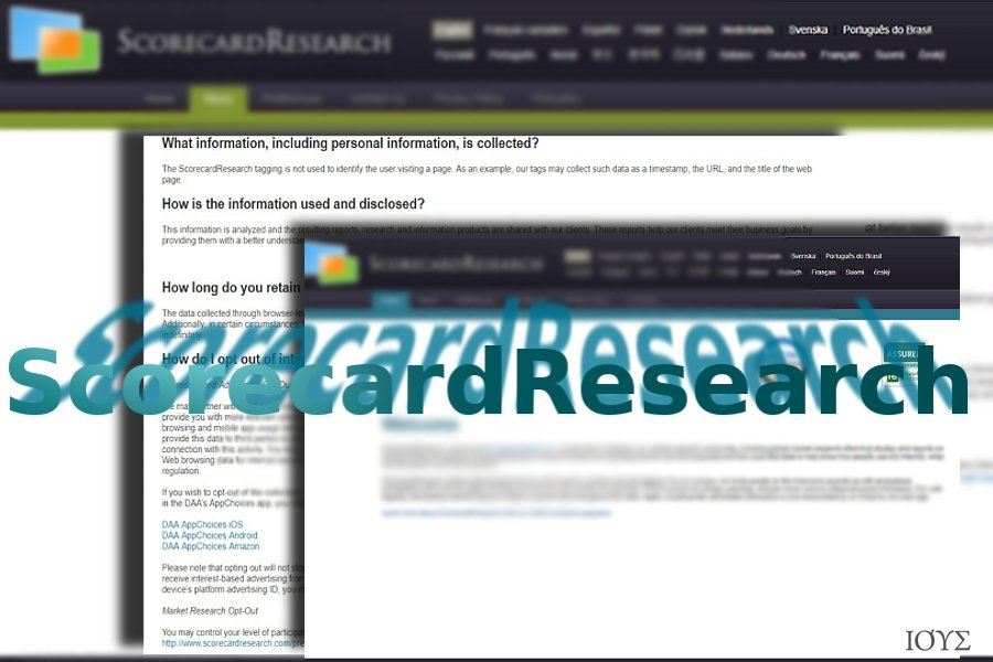 Το ScorecardResearch website