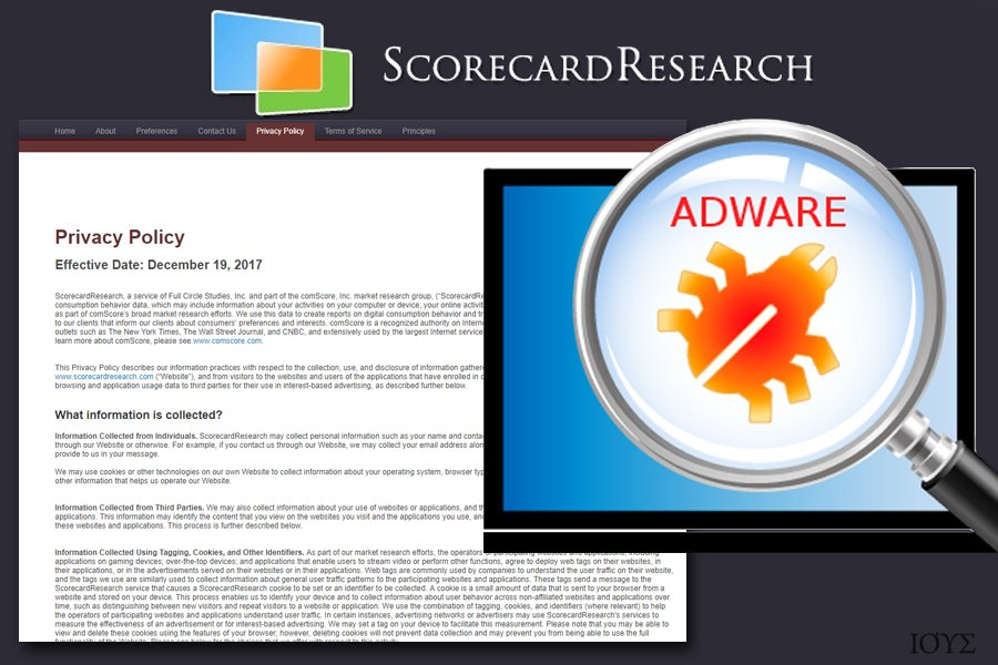 Το ScorecardResearch adware